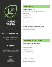 Garddwest GOING GREEN - Handmade Seed Paper - pg 3