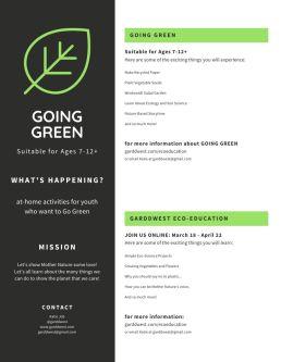 Garddwest GOING GREEN - Speedy Seeds - pg 2