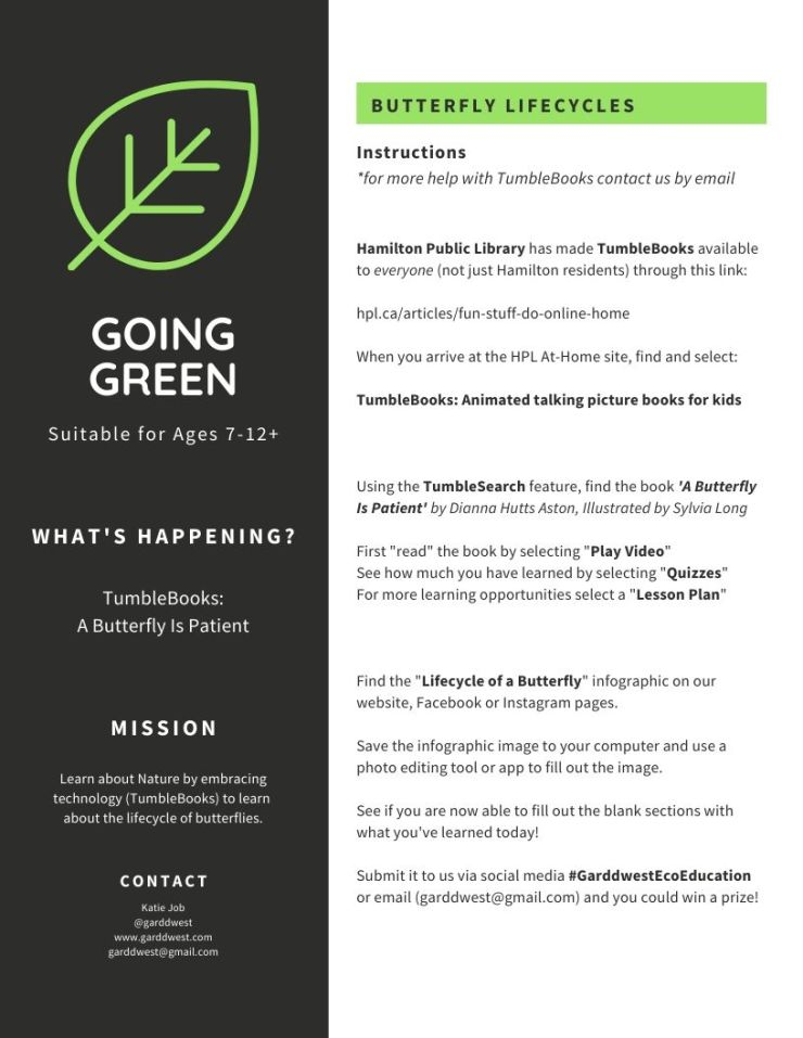 GOING GREEN - Garddwest EcoEducation